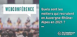 Quels sont les métiers qui recrutent en Auvergne-Rhône-Alpes en 2021 ?