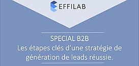 SPECIAL B2B: Les étapes clés d'une stratégie de génération de leads réussie.