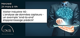 """Industrie 4.0 : l'analyse de données capteurs, un exemple """"end-to-end"""" d'apprentissage prédictif"""