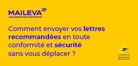 Envoyer vos lettres recommandées 24h/24, 7j/7 et sans vous déplacer, en toute conformité et sécurité