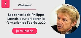 Les conseils de Philippe Lacroix pour préparer la formation de l'après 2020