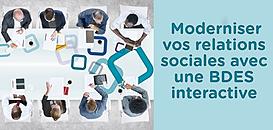 Modernisez vos relations sociales avec une BDES interactive