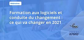 Formation aux logiciels et conduite du changement : ce qui va changer en 2021