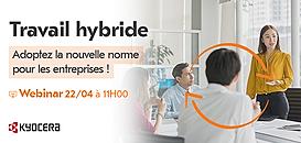 Travail hybride : adoptez la nouvelle norme pour les entreprises !