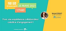 Pour une expérience collaborateur créatrice d'engagement !