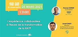L'expérience collaborateur à l'heure de la transformation de la RATP