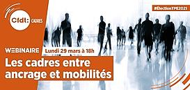 Les cadres entre ancrage et mobilités · Webinaire CFDT Cadres