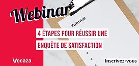 Comment réaliser une bonne enquête de satisfaction : la méthode en 4 étapes !