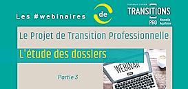 Projet de Transition Professionnelle : comment sont étudiés les dossiers PTP ?