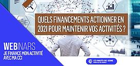 Quels financements actionner en 2021 pour maintenir vos activités ?