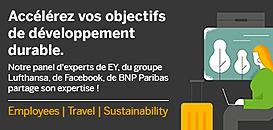 Encourager les collaborateurs à choisir des voyages d'affaires durables