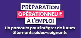 La préparation opérationnelle à l'emploi (POE) : un parcours pour intégrer de futurs alternants aides-soignants