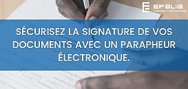Sécurisez la signature de vos documents avec un Parapheur électronique. Visez, signez vos documents en toute confiance.