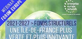 Les fonds structurels européens en faveur d'une Île-de-France plus verte et plus innovante