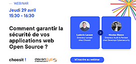 Comment garantir la sécurité de vos applications web Open Source ?