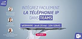 Intégrez facilement la téléphonie IP à Teams