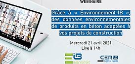 Grâce à « Environnement-IB », des données environnementales de produits en béton adaptées à vos projets de construction
