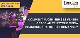 Branding, Trafic, Performance : le triptyque média pour maximiser ses ventes ?