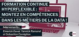 Formation continue hyperflexible : montez en compétences dans les métiers de la data !