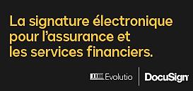 La signature électronique pour l'assurance et les services financiers.
