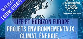 Des programmes de financement pour une Europe plus verte : Horizon Europe et LIFE
