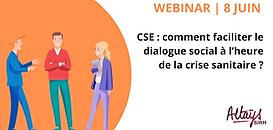 CSE : comment faciliter le dialogue social à l'heure du Covid ?
