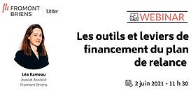 Les outils et leviers de financement du plan de relance