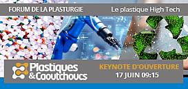 Keynote d'ouverture – Plastique High Tech