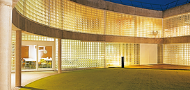 LE VERRE pressé: un matériau idéal pour la fabrication de Briques, Pavés, Tuiles, Carreaux et produits d'Architectes ?