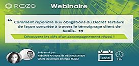 Comment répondre aux obligations du Décret Tertiaire de façon concrète à travers le témoignage client de Keolis ?