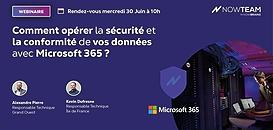 Comment opérer la sécurité et la conformité de vos données avec Microsoft 365 ? 