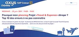Pourquoi mon planning Projet Travel & Expense dérape ? Top 10 des erreurs à ne pas commettre