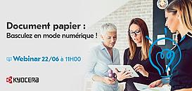 Document papier : basculez en mode numérique !