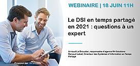 Devenir DSI en temps partagé en 2021 ?  Questions à un expert !