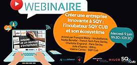 Créer une entreprise innovante à SQY : l'incubateur SQY CUB et son écosystème