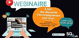 A St Quentin-en-Yvelines : des dispositifs d'accompagnement pour tous !