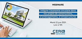 Intégrer l'économie circulaire dans vos projets de constructions, d'aménagements, d'infrastructures