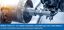 Le robot à système de vision intégré : un outil révolutionnaire au service de sa ligne de production industrielle ?