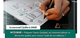 Préparer l'après Qualiopi, ou comment piloter sa démarche qualité pour réussir l'audit de surveillance ?