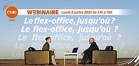 Entre télétravail et travail au bureau : quels sont les avantages et les limites du concept de flex-office ?