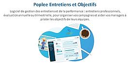 Démo logiciel Poplee Entretiens et Objectifs - Manager