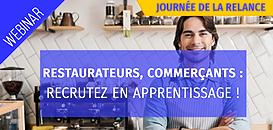 Restaurateurs, Commerçants : recrutez en apprentissage !