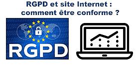 RGPD et site Internet : comment être conforme ? Politique de confidentialité, Bandeau de cookies, Formulaire de contact