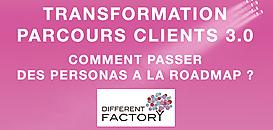 Transformation parcours clients : Comment passer des Personas à la roadmap clients ?
