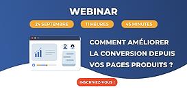 Comment améliorer votre taux de conversion depuis vos pages produits ?