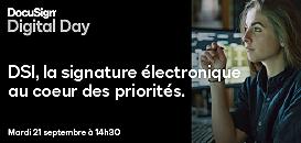 DSI, la signature électronique au cœur des priorités.
