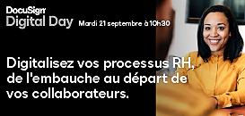 Digitalisez vos processus RH, de l'embauche au départ de vos collaborateurs.