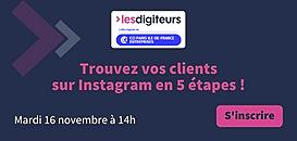 Trouvez vos clients sur Instagram en 5 étapes !