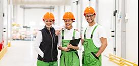 Sécurité, Excellence Opérationnelle, Durabilité. Activez les 3 piliers de l'industrie de Demain.