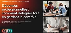 Dépenses professionnelles : comment déléguer la gestion tout en gardant le contrôle ?